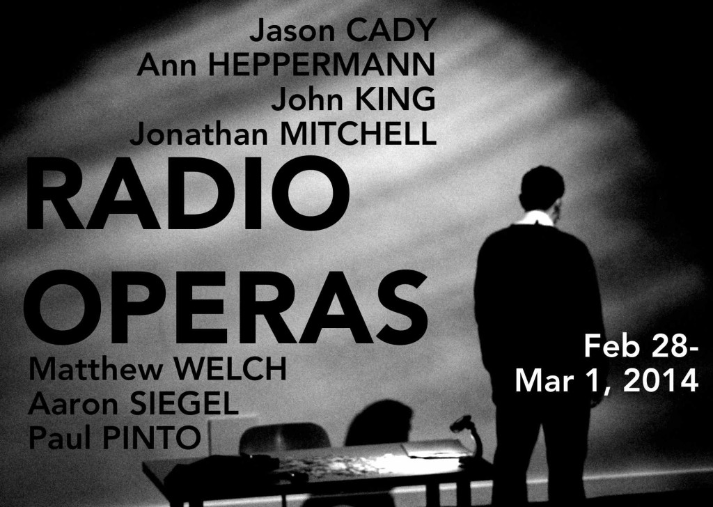 Radio Operas with text web