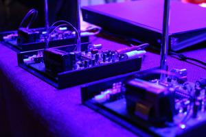 Small radio transmitters